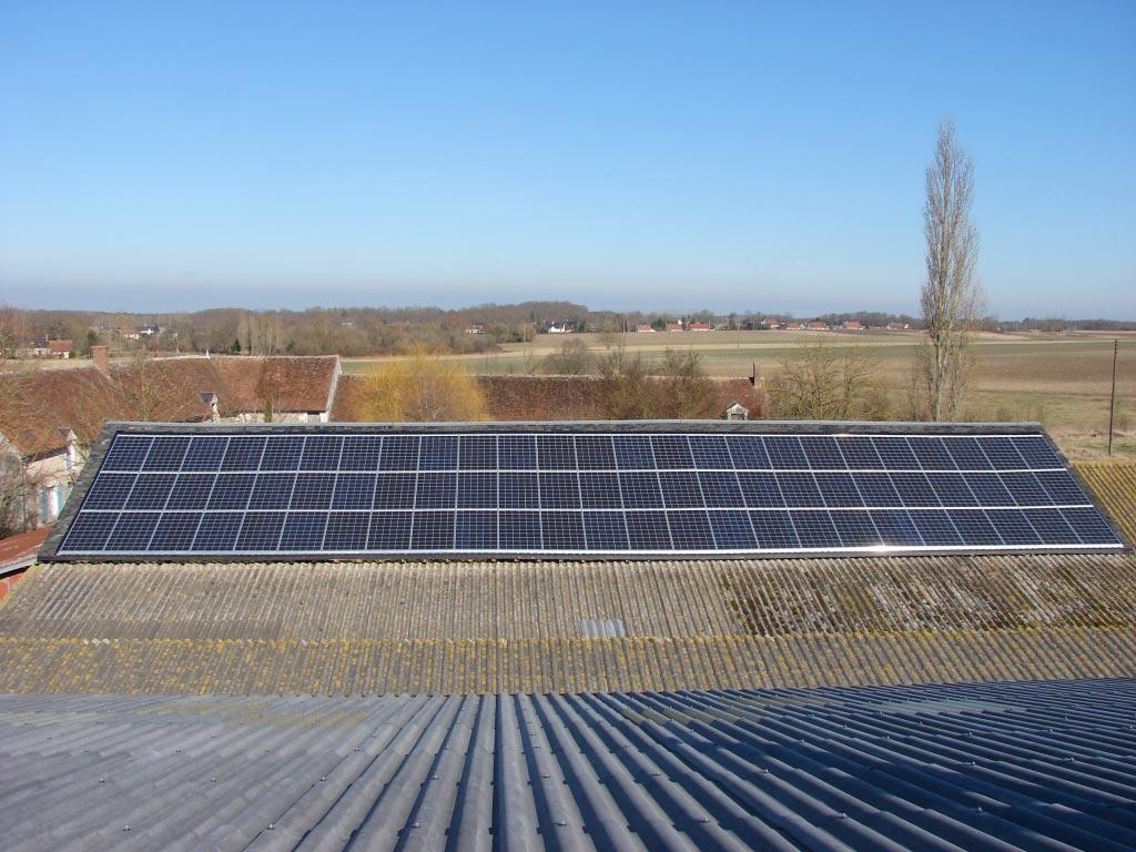 Photovoltaïque à Monthou / Bièvre - 41 Loir et Cher-Loir et Cher (41)