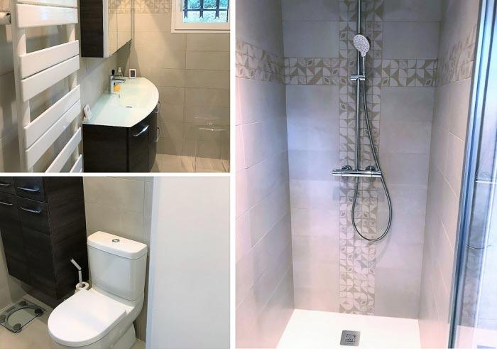 Création et réalisation d'une salle de bain complète à Ollainville 91 Essonne