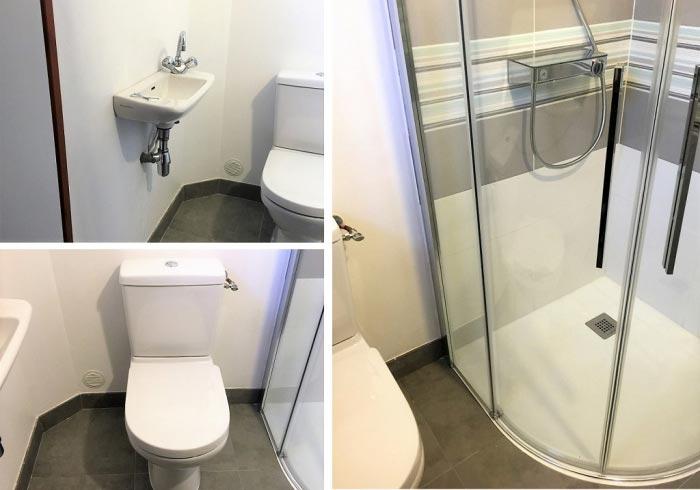 Réalisation d'une salle de douche à Le Pavillon sous Bois 93 Seine St Denis