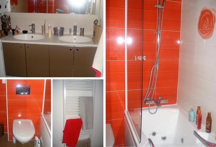 Réalisation d'une salle de bain à Villiers sur Orge 91 Essonne
