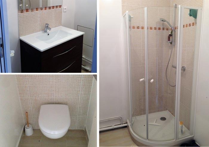 Rénovation salle de bain à Chatillon 92 Hauts de Seine