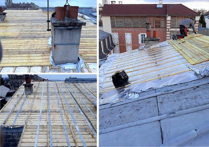 Réfection complète de toiture