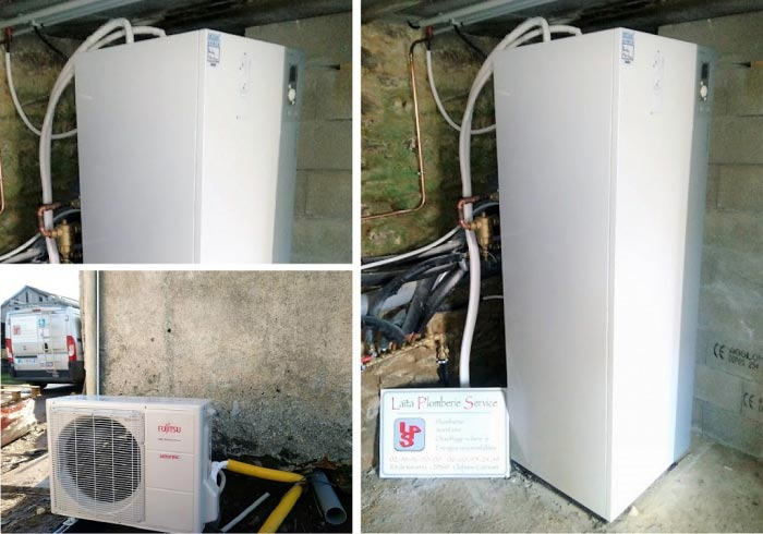 Vente et pose pompe à chaleur chauffage sanitaire