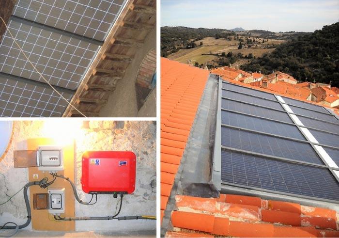 Mise en place d'une installation photovoltaïque intégrée hybride-Pyrénées Orientales (66)