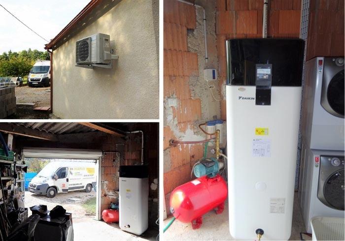 Chauffe-eau thermodynamique Daikin - Installateur Qualipac RGE 30 Gard et 84 Vaucluse