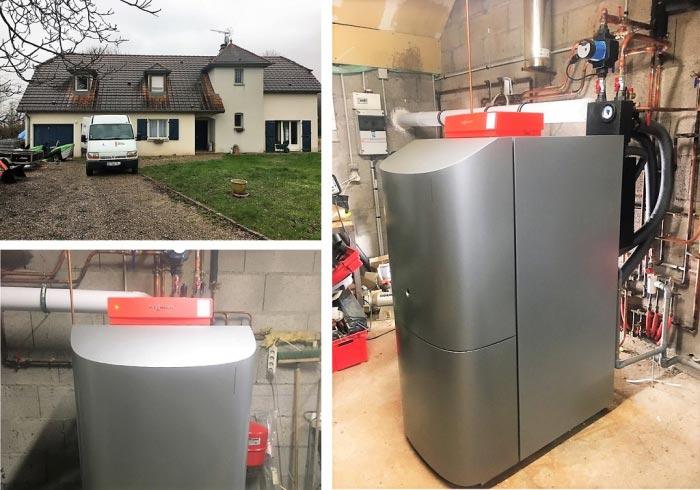 Chaudière fioul à condensation (haute performance energétique) Viessmann