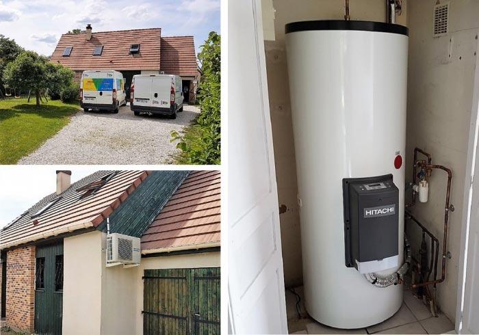 Chauffe eau thermodynamique Loiret, Hitachi Yutampo Germigny des Prés