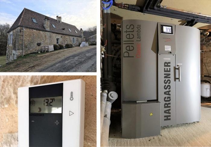Chaudière à granulés de bois Hargassner-Dordogne (24)