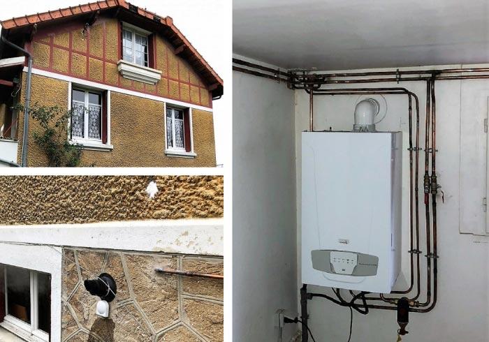 Chaudière condensation Gaz murale Chappée à Villebon sur Yvette 91 Essonne