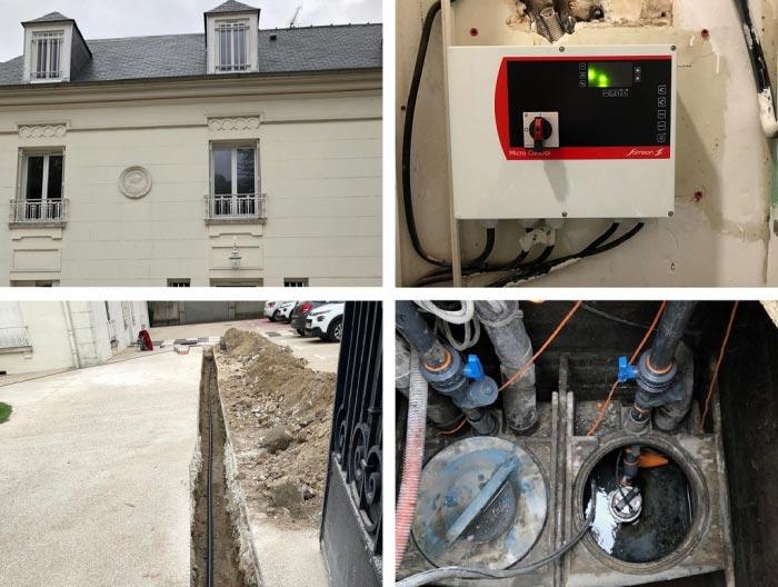 Installation de pompes de relevages Eaux vannes et Eaux Usées à Etampes 91 Essonne