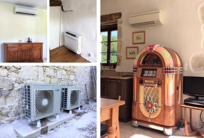 ETS VELLARD. Pompe à chaleur air / air réversible  Daikin 47 Lot et Garonne. AGEN