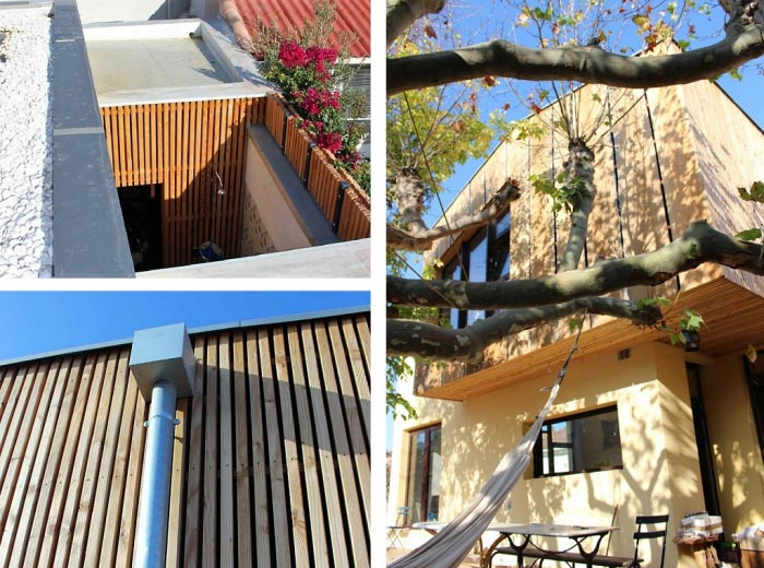 Surélévation et extension d'une maison traditionnelle