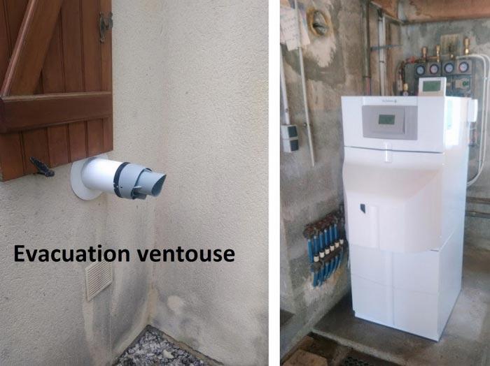 Vente installation chaudière fuel condensation DE DIETRICH  NEOVO