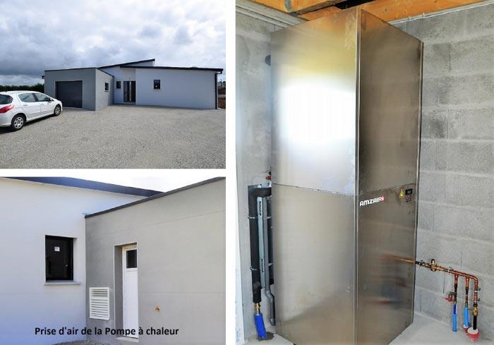 Pompe à chaleur Air-eau Amzair Finistère