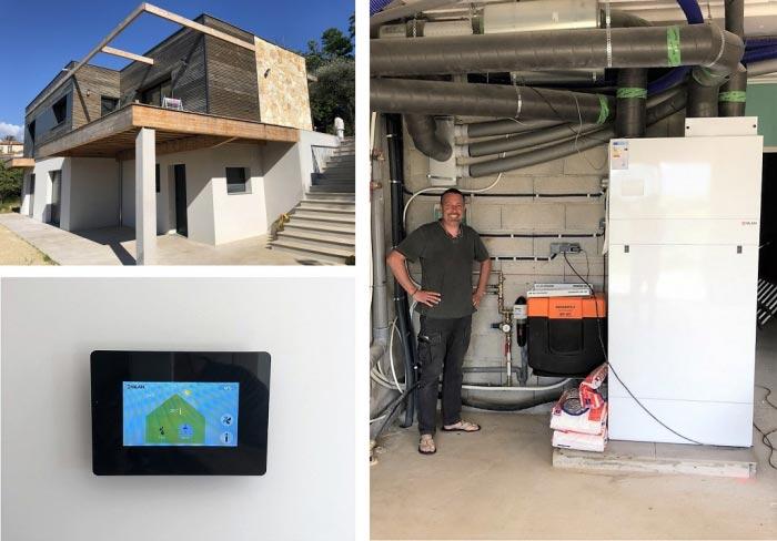 Centrale de ventilation NILAN COMPACT P multifonction -Alpes Maritimes (06)