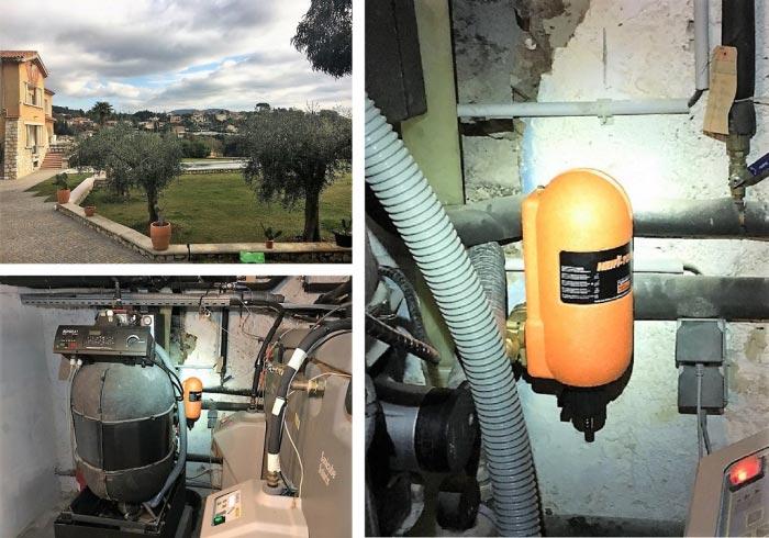 Pose d'un filtre de décantation pour un circuit de chauffage Alpes-Maritimes-Alpes Maritimes (06)