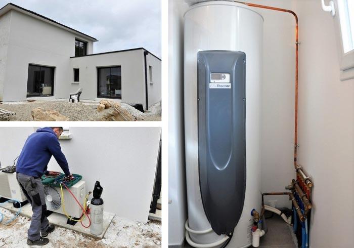 Mise en service chauffe-eau thermodynamique Thermor Finistère