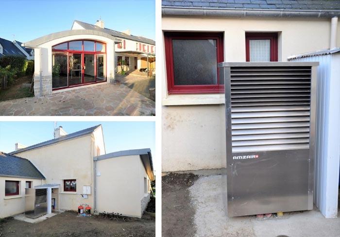 Pompe à chaleur Amzair Finistère-Finistère (29)