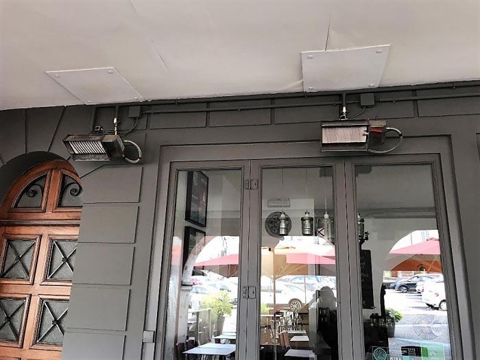Chauffage gaz restaurant - gironde (33)