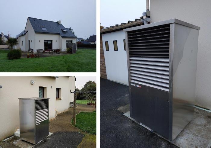 Pompe à chaleur Amzair Finistère