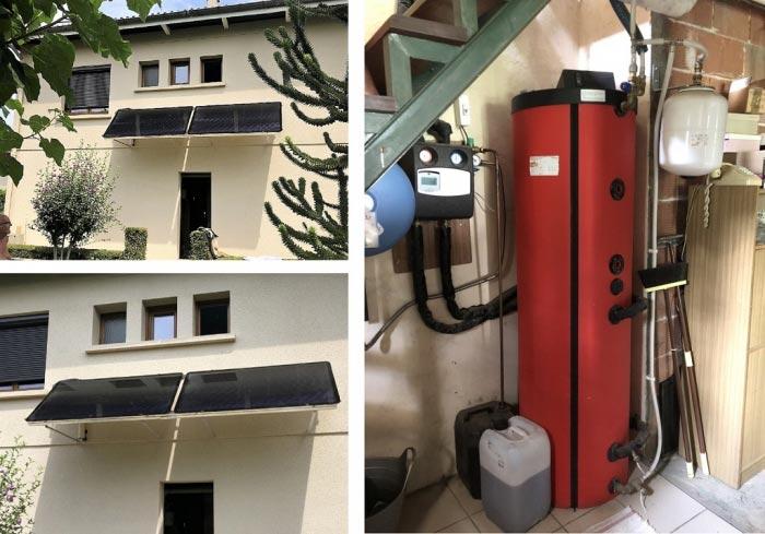 Entretien Chauffe eau solaire thermique Sonnenkraft (CESI) - Isère