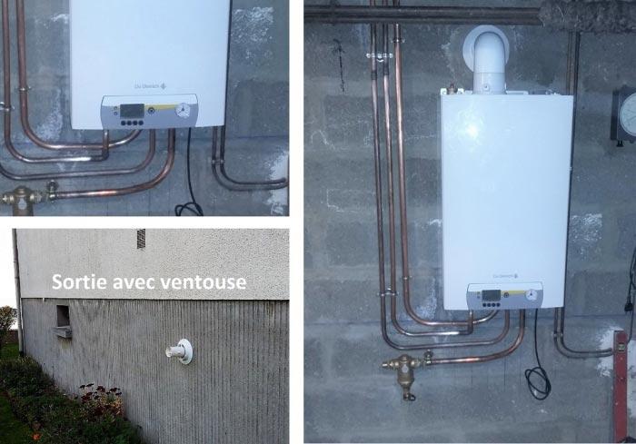 Remplacement chaudière gaz mural à condensation DE DIETRICH, 60000, BEAUVAIS, OISE.