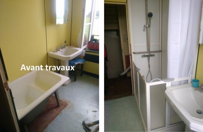 vente installation douche complète PMR CLOHARS-CARNOET