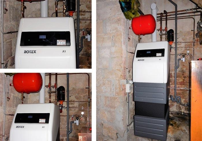 Chaudière fioul condensation Rotex Lot