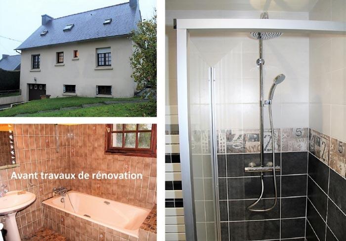 Ets Jean Klein Renovation Complete D Une Salle De Bain Rostrenen