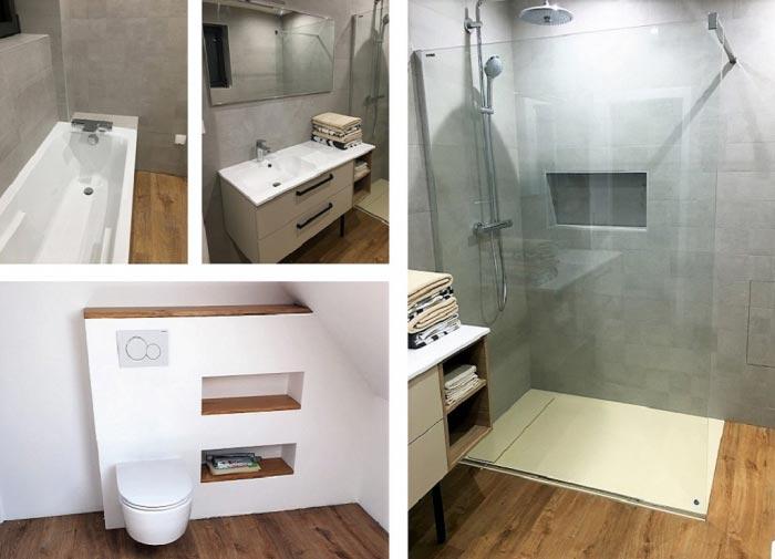 Création d'une salle de bain complète, Haut-Rhin