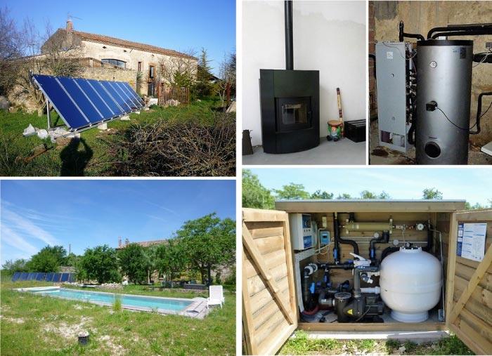 CHAUFFAGE SOLAIRE SOLISART PISCINE et INSERT MIXTE FOGHET JOLLYMEC  GRANULE PELLET BOIS BUCHE 31 Haute Garonne 4904424ec0b7