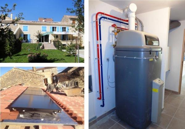 Solariste Eco Artisan RGE qualisol-combi 30 Gard et 4 Vaucluse - Installateur Système Solaire Combiné Daikin Rotex à Roquemaure
