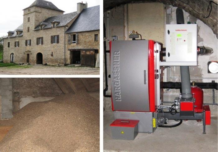 Chaudière bois plaquettes Hargassner à Bertholène 12 Aveyron-Aveyron (12)