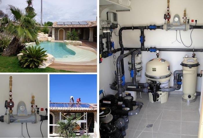 Solariste Installateur RGE Qualibat Qualisol - Solaire thermique pour chauffage piscine de Marque Daikin/Rotex à Roquemaure - 30 Gard et 84 Vaucluse-Gard (30)