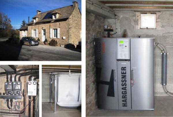 Chaudière granulés de bois (pellets) Hargassner Sainte Radagonde 12 Aveyron-Aveyron (12)