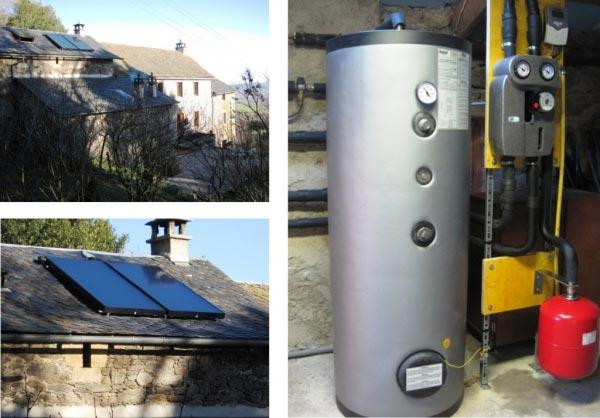 Eau chaude solaire Thermique CESI à Recoules 12 Aveyron-Aveyron (12)