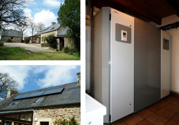 Chauffage Géo-solaire Ellios Industries à Callac - 22 Côtes d Armor