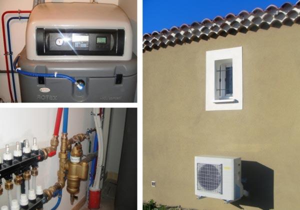Chauffagiste climaticien RGE qualipac qualigaz- Installateur pompe à chaleur Daikin Rotex HPSU Compact à Sorgues 84 Vaucluse  - 30 Gard-Vaucluse (84)