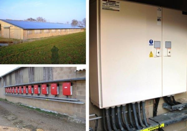 Production d'électricité solaire photovoltaïque dans le 12 Aveyron