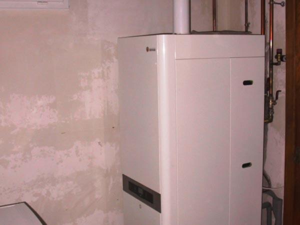 Chaudière fioul par une chaudière gaz condensation Domusa à Viriat 01