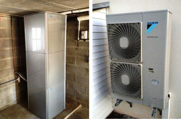 Installation Pompe à Chaleur Daikin à Rieux 56 Morbihan-Morbihan (56)