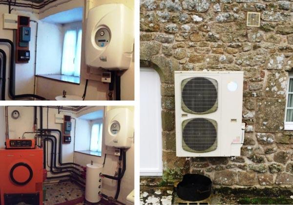 Installation Pompe à Chaleur Airpac à Auray 56 Morbihan-Morbihan (56)