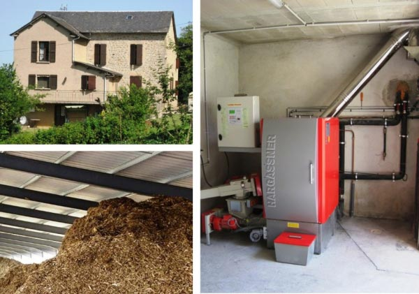Chaudière bois plaquettes forestières Hargassner à Recoules 12 Aveyron-Aveyron (12)