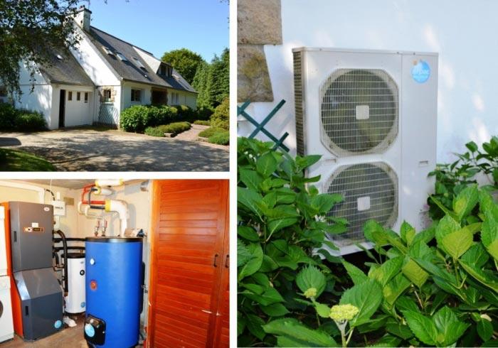 Installation Pompe à Chaleur ( PAC ) Nevez Finistère 29-Finistère (29)