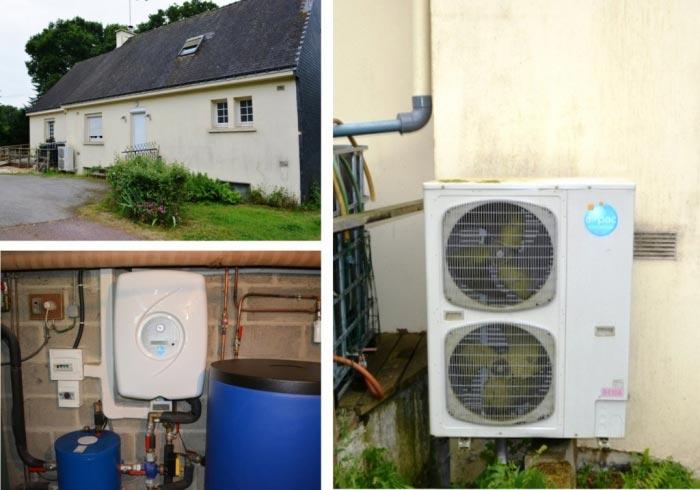 Installation Pompe à Chaleur ( PAC ) 56 Morbihan GUILLAC-Morbihan (56)
