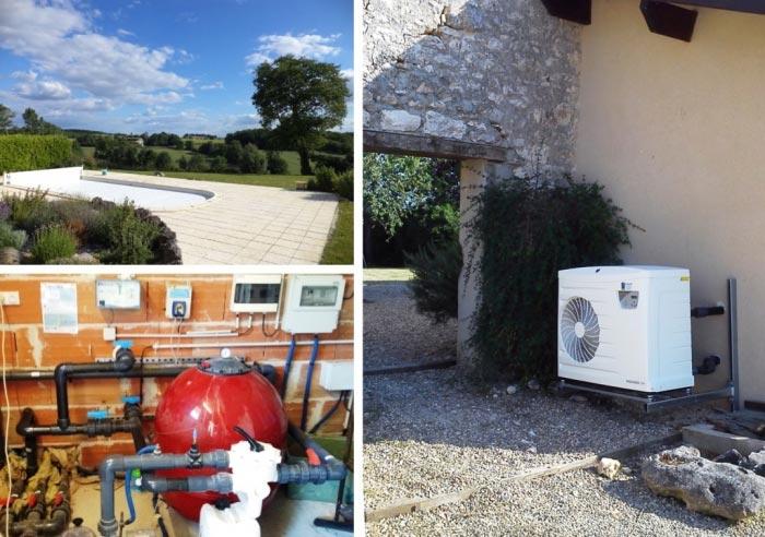 fb energies pompe chaleur air eau pour chauffage de piscine de marque zodiac razac d 39 eymet. Black Bedroom Furniture Sets. Home Design Ideas