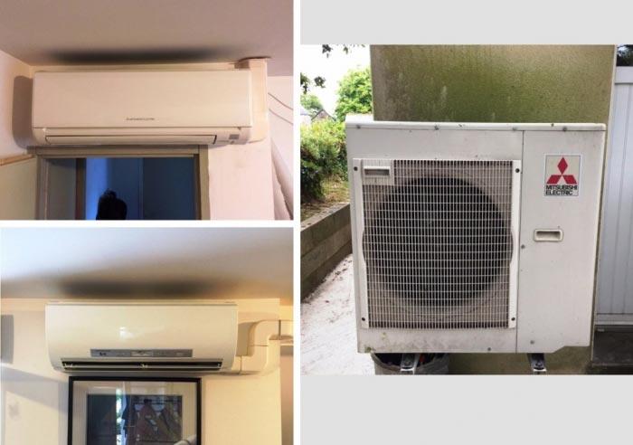 Installation Pompe à chaleur ( PAC ) Mitsubishi Electric 56 Morbihan-Morbihan (56)