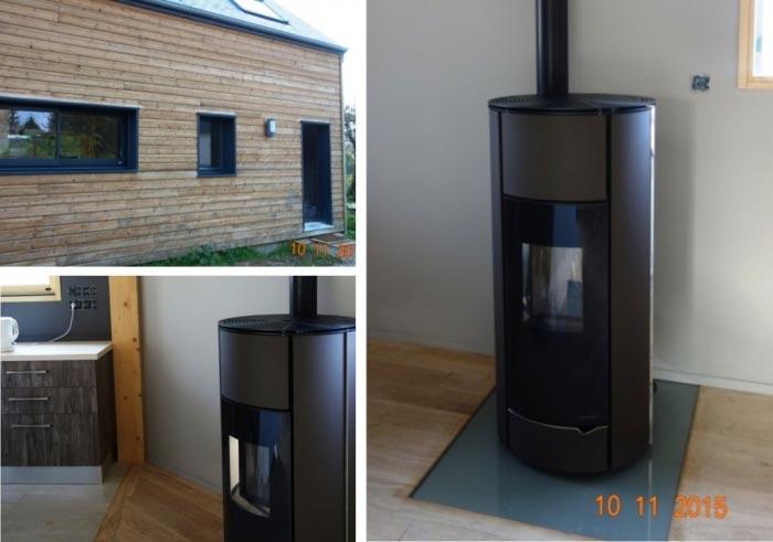 Poêle à granulés de bois (pellets) à Vallères - 37 Indre et Loire