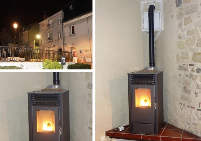 Poêle à granulés de bois (pellets) Palazzetti à Tours 37 Indre et Loire