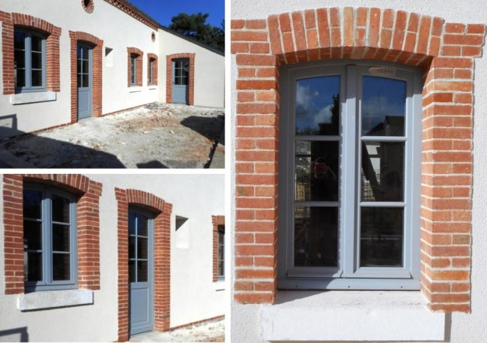 Ateliers Aigret Gosset Sarl Fenêtre Et Porte Dentrée Bois Avec